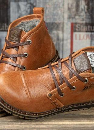 Зимние ботинки на меху  clarka ultra moda