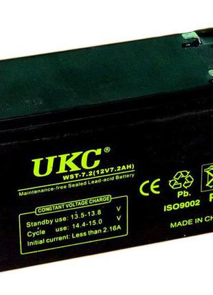Аккумулятор UKC 12V 7.2Ah WST-7.2 (003606)
