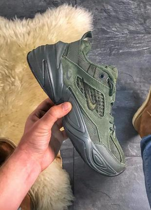 Nike m2k tekno linen green.