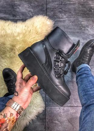 "Puma x fenty by rihanna sneaker boot ""black"""