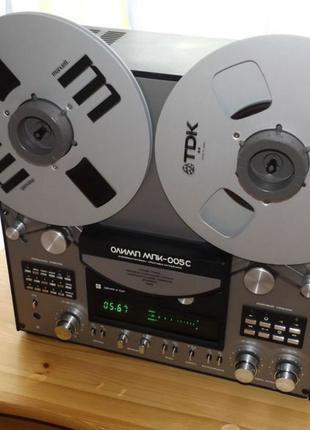Катушечный стерео магнитофон Олимп серия 005С