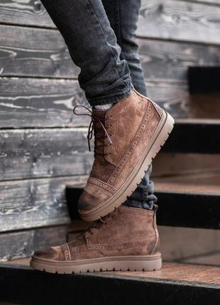 Ботинки south mist coffe (зима)