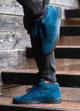 Ботинки south oriole blue (зима)