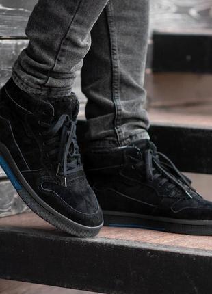Ботинки south oriole black (зима)