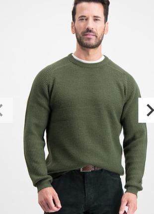 Классный хлопковый свитер джемпер размера xl сток