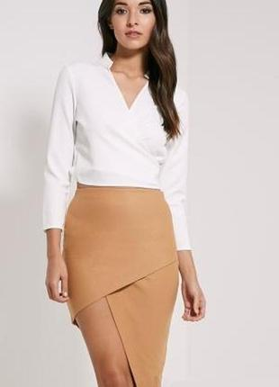Ассиметричная юбка- карандаш