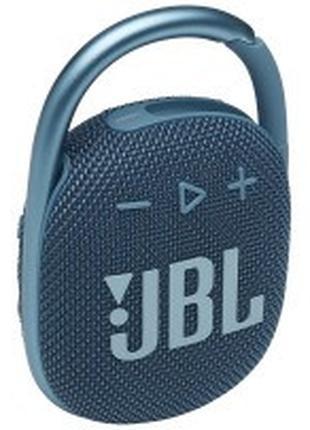 Портативная акустика JBL Clip 4 Blue (JBLCLIP4BLU)
