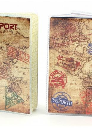 Обложка виниловая на паспорт Путешественника