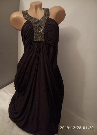 Дизайнерское платье в греческом стиле