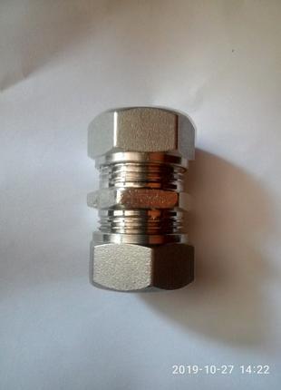 Муфта соединительная 20/20 для металопластиковых труб
