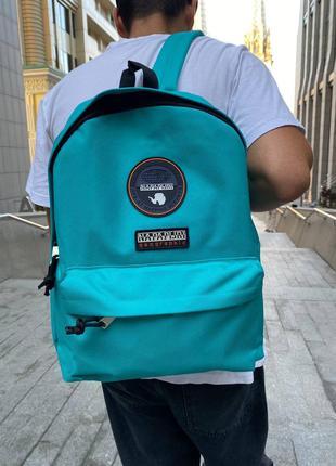 Рюкзак Napapijri бирюзовый городской Рюкзак напапири школьный ...