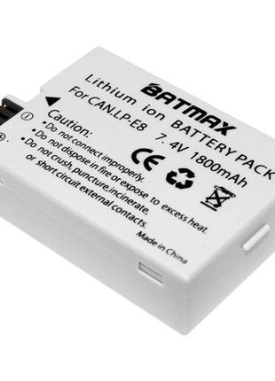 Аккумулятор Сanon LP-E8 для Canon EOS 550D, 600D, 650D, 700D