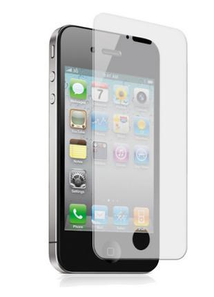 Защитное стекло для iPhone 4/4s/ (стекло для экрана Айфон 4) нов