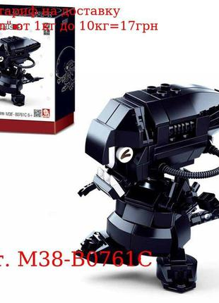 Конструктор SLUBAN M38-B0761C робот, 177дет, в кор-ке, 15-19, ...