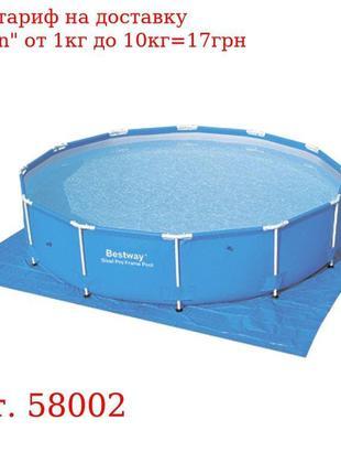 BW Подстилка 58002 для бассейнов, квадратная, 396-396см