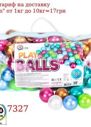 Игрушка «Набор шариков для сухих бассейнов ТехноК», арт, 7327
