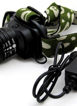 Налобный фонарик Bailong Police BL-6809