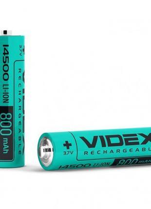 Аккумулятор Videx Li-Ion 14500 800mAh