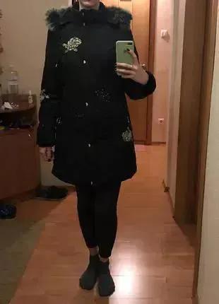 Пуховик женский зимний, зимняя куртка