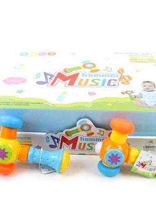 Молоточек детский 95588-80 музыкальный