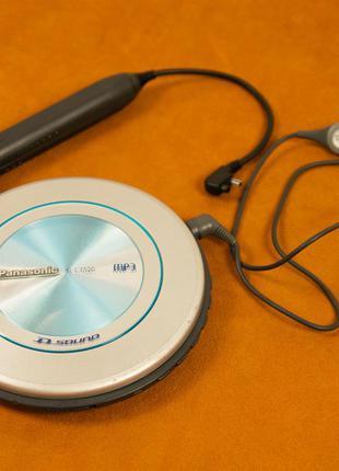 CD mp3 плеер Panasonic SL-CT520 (с пультом, ТОПОВЫЙ)