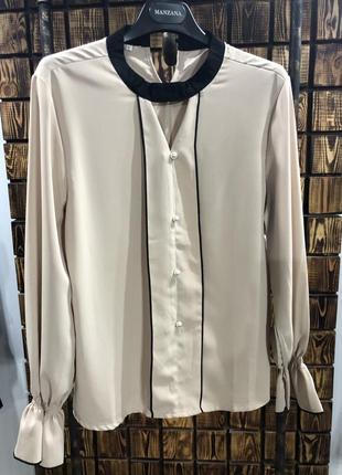 Костюм блузка и юбка миди
