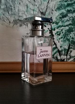 Женский аромат lanvin jeanne eu de parfum