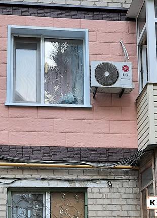 Утепление фасадов домов термопанелями Полифасад