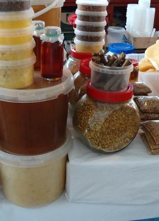 Мед гречневый 1кг - собственная пасека - Украина