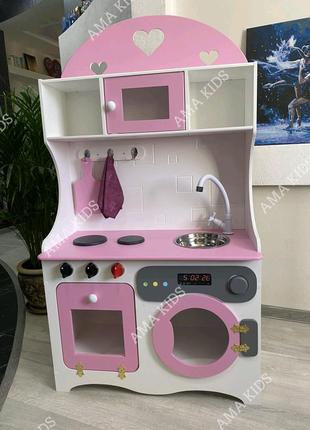 Детская кухня, дитяча кухня, кухня для девочки, кухня для дівчинк