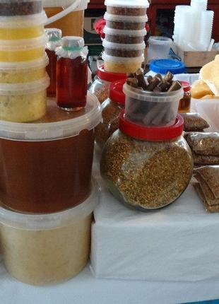 Мед липовый 1кг - собственная пасека - Украина