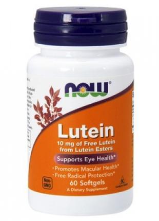 Лютеин Lutein 10 mg 60 softgels