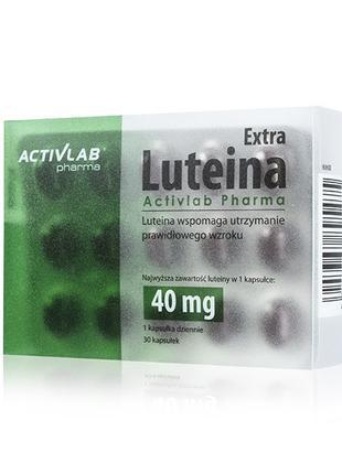 Лютеин Lutein 40mg 30 caps