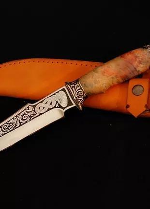 Подарочный нож ручной работы Змея