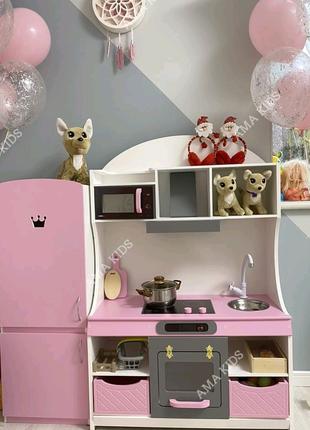 Детская игровая кухня, кухня для дівчинки, кухня для девочки