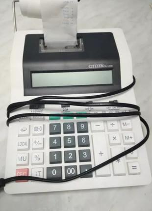 Ленточный калькулятор сitizen cx-121N