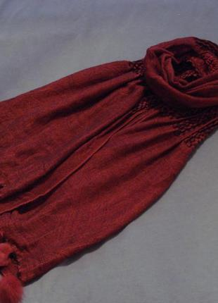 Большой зимний шарф ashma