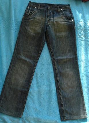 Стильные турецкие прямые джинсы