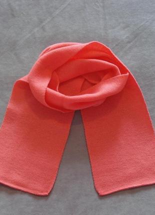 Коралловый шарф