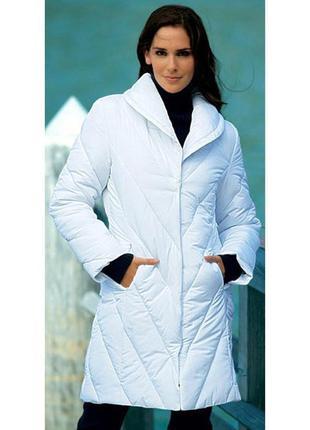 Белое пальто jürgen michaelsen