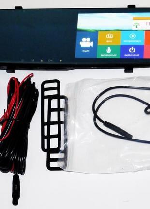 DVR L1001С Full HD Зеркало с видеорегистратором с камерой задн...