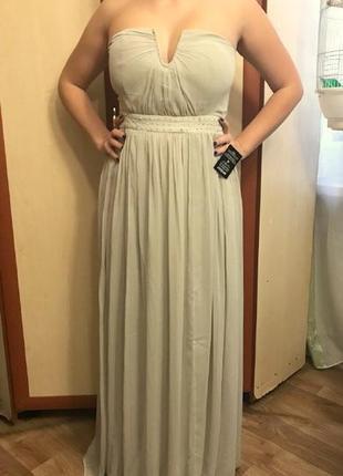 Платье вечернее длинное nlyeve 40/s-m