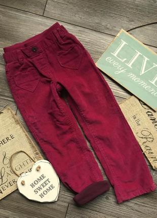 Штаны брюки на подкладе vertbaudet 3-4г