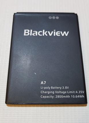 Оригинальная батарея аккумулятор для Blackview A7, A7 Pro