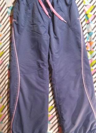 Тёплые зимние штаны, рост 140