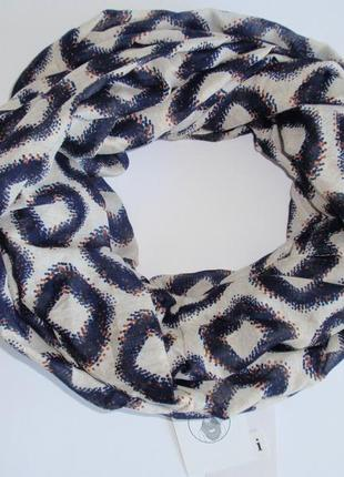 Снуд женский шарф хомут легкий бренд accessoires c&a, германия