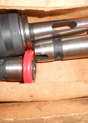Быстросъемный патрон с тремя втулками КМ1 .КМ2 .КМ3