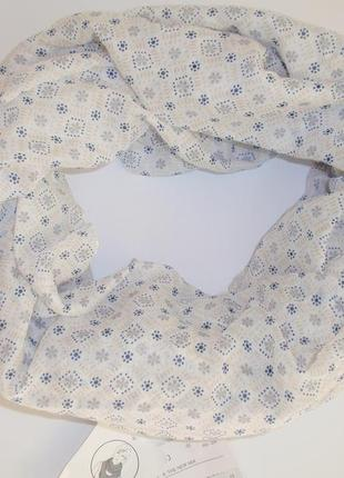 Снуд женский шарф хомут нежный легкий бренд accessoires c&a, г...