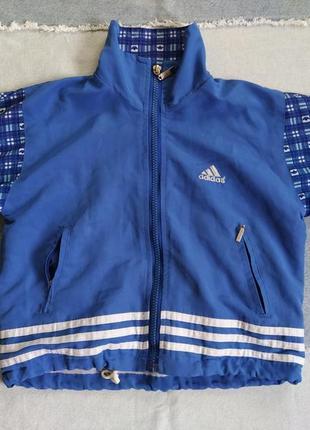 Курточка куртка спортивная бомбер ветровка на 3-4 года adidas