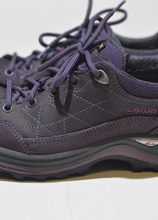 Треккинговые кроссовки lowa renegade iii gtx lo ws purple outdoor